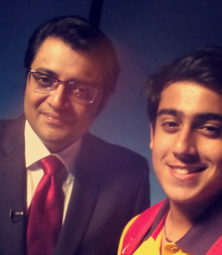 Abhinandan Kaul In Studio With India's Top Journalist- Arnab Gowswami
