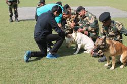 Abhinandan Kaul At BSF Camp In Tekanpur