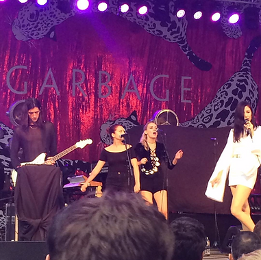 Central Park Summerstage w/ Kristin Kontrol opening for Garbage