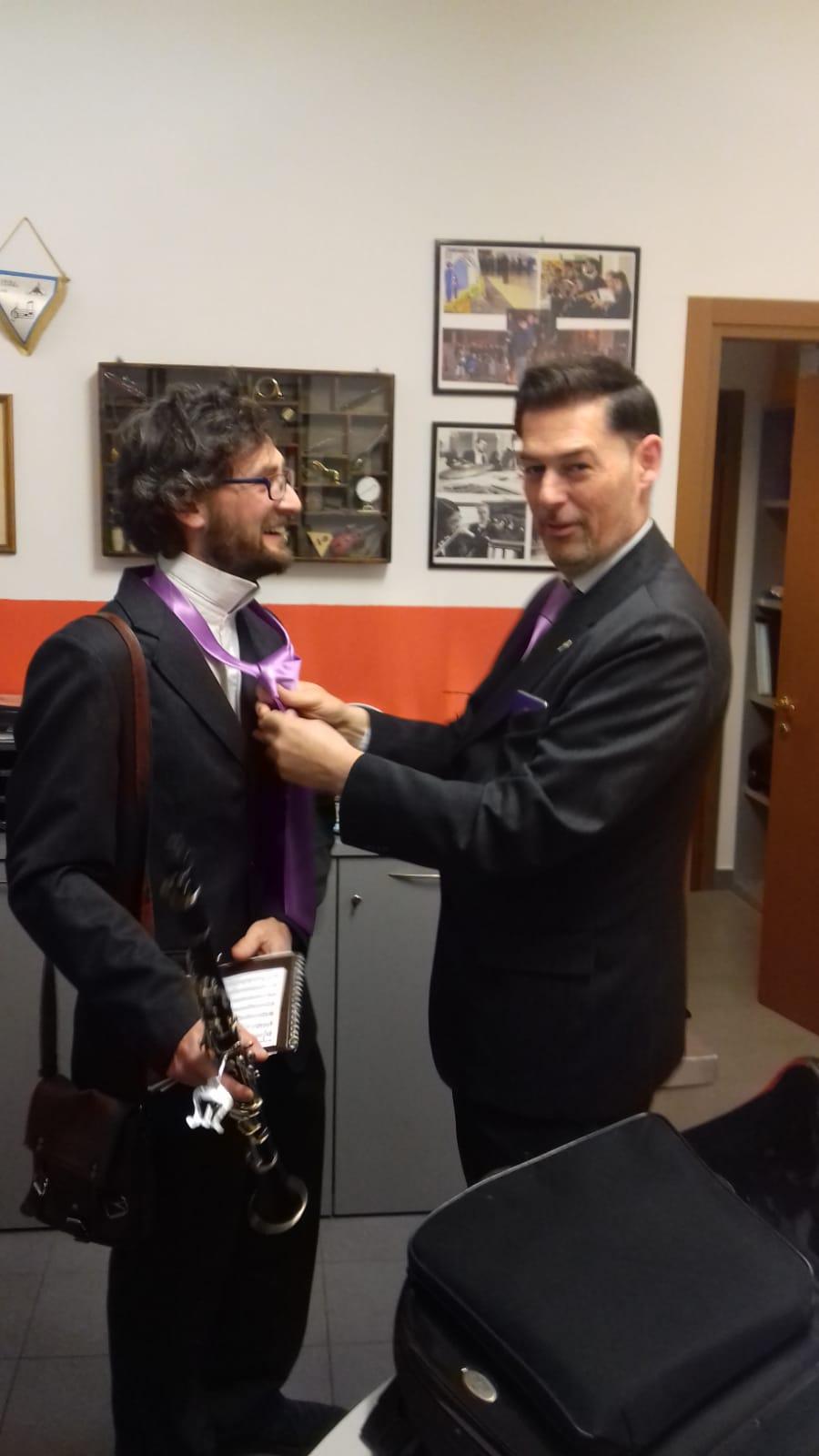 Corrado e le cravatte