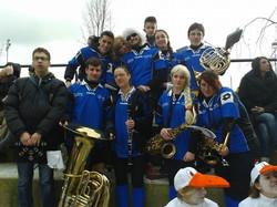Banda durante il Carnevale