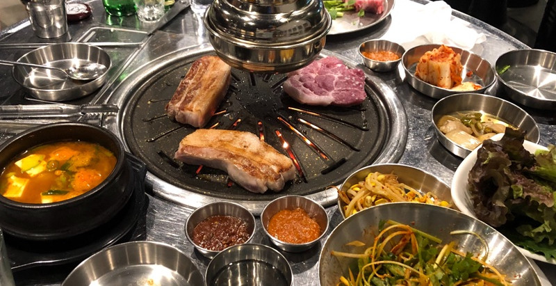 삼겹살 - sam/guiop/sal