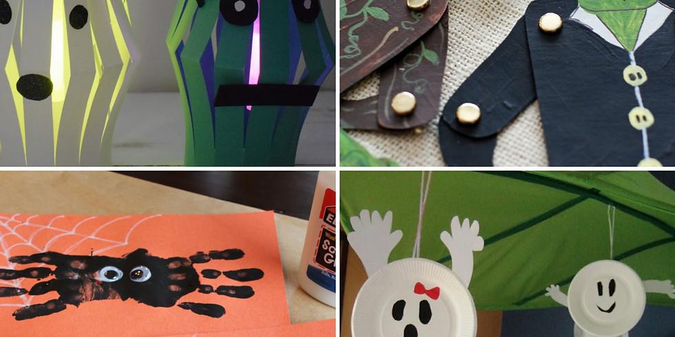 Halloween Arts & Crafts 26th Oct 12:30pm