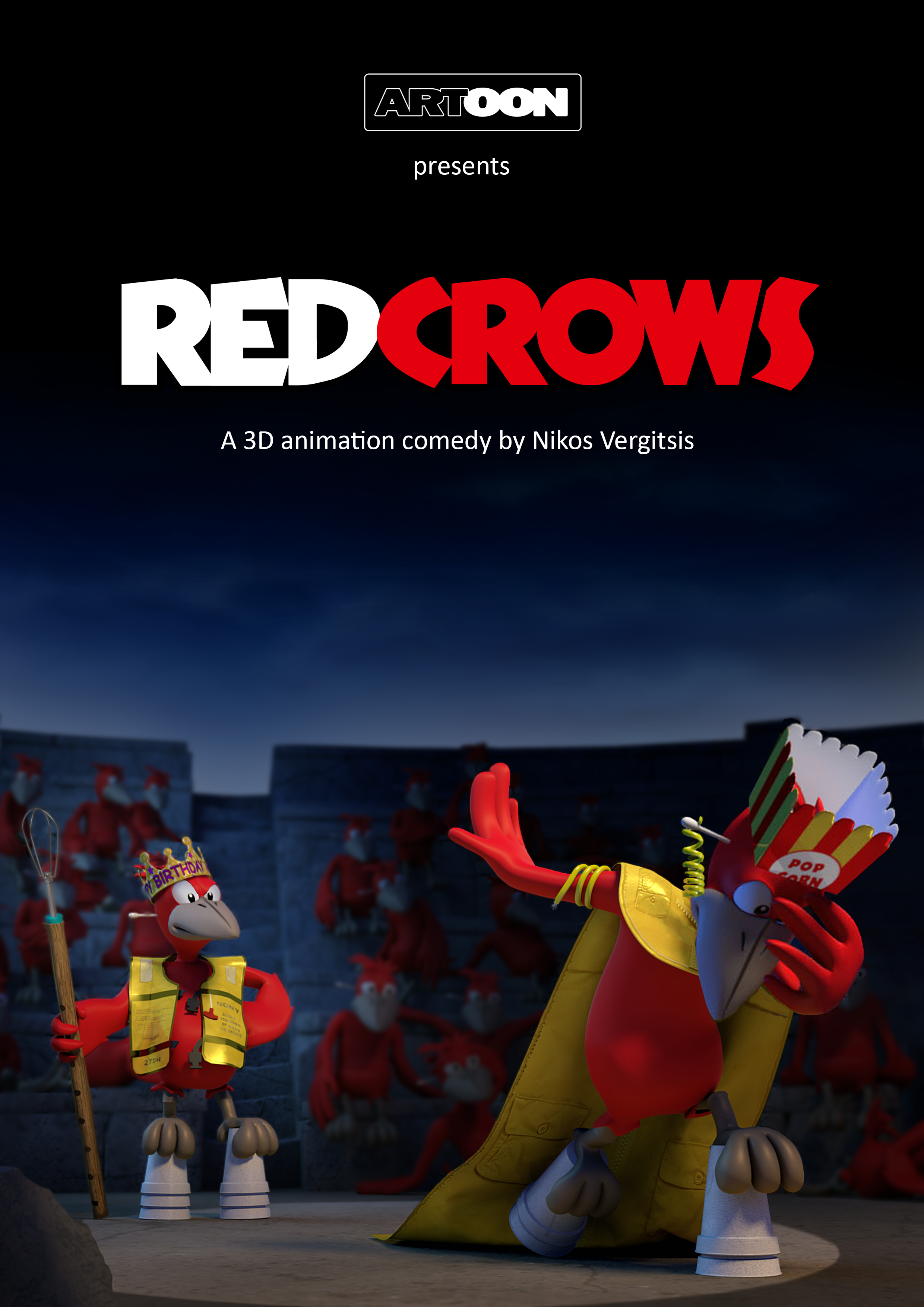 red crows poster 9-11-2016