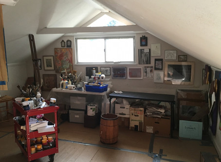 """Charles King Steiner Studio Featured in Hyperallergic's """"A View from the Easel"""""""