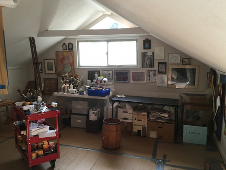 "Charles King Steiner Studio Featured in Hyperallergic's ""A View from the Easel"""