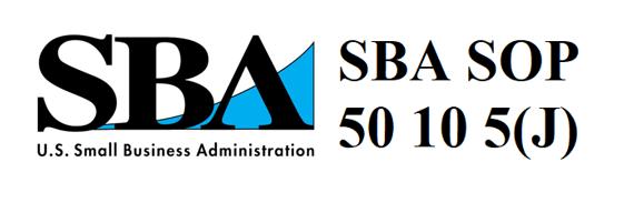 SBA SOP 50 10 5 J