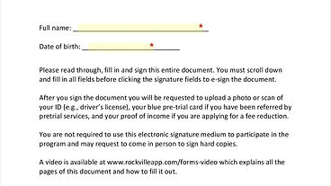 How to Fill Out the Forms