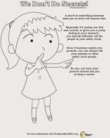 The Mama Bear Effect – Child Sexual Abuse Prevention Coloring Pages