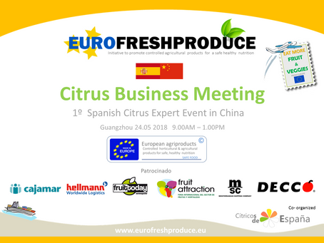 1º  CITRUS BUSINESS MEETING CHINA