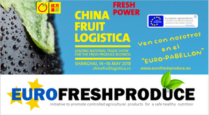 CHINA FRUIT LOGISTICA EUROFRESHPRODUCE