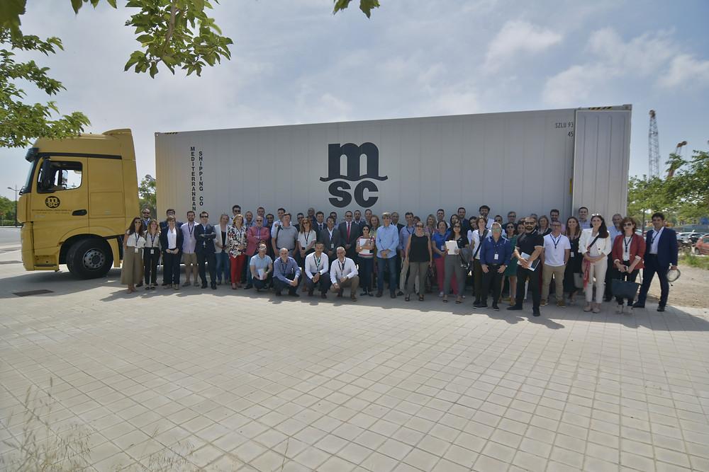 Participantes del Workshop MSC Valencia  Oliver Huesmann Julio Nestar