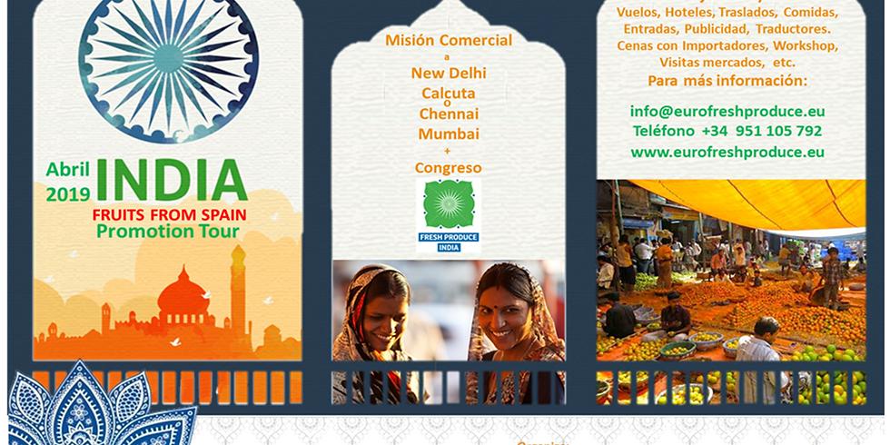 "Mission Comercial-Técnico  ""Frutas españolas a INDIA"""