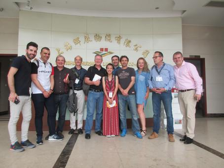Eurofreshproduce  Citrus Mission Orangen nach China, verlief sehr erfolgreich.