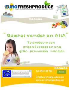 EUROFRESHPRODUCE  Quieres vender en Asia ?