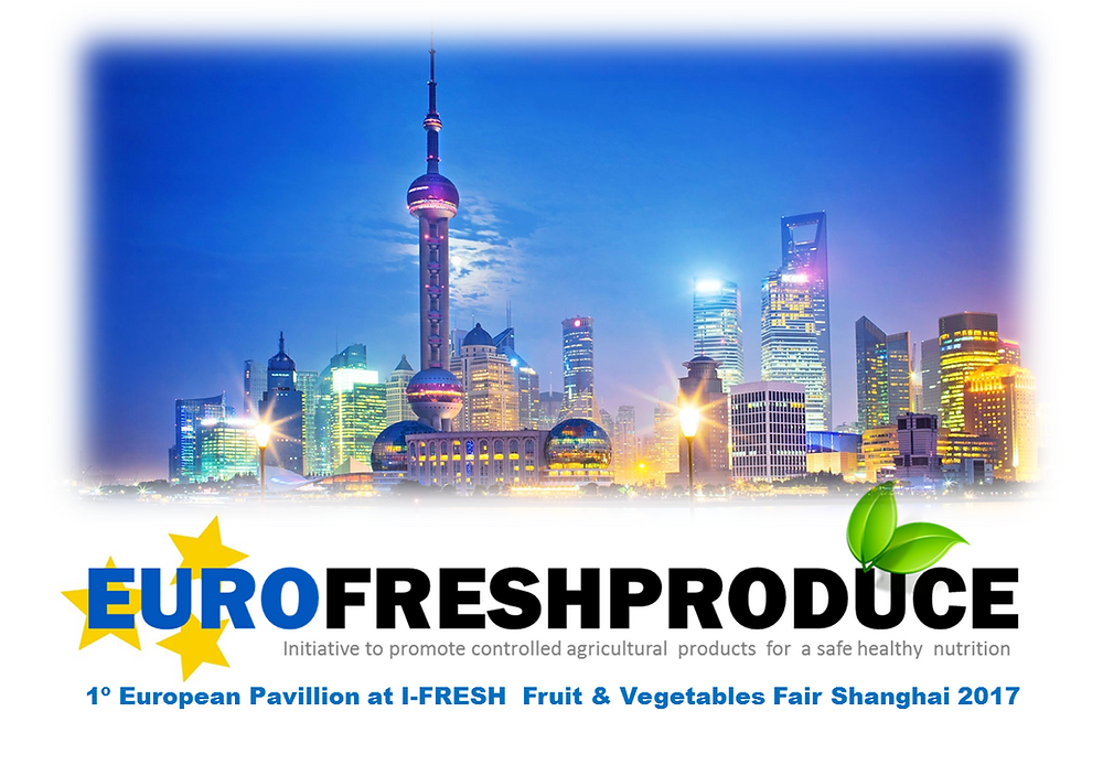 Eurofreshproduce  Pabellón cooperativo Shanghai I-FRESH