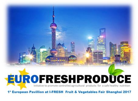 1º Pavillion cooperativo de Europa en I-FRESH Shanghai