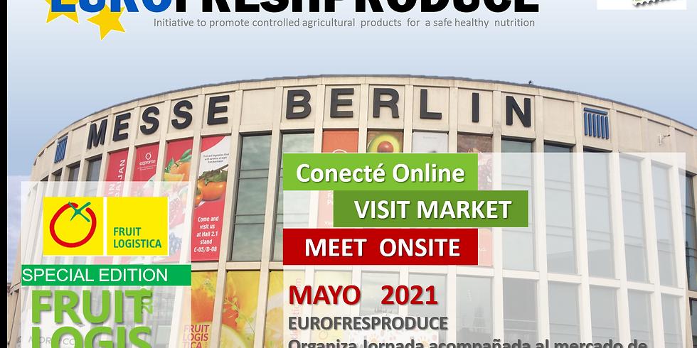 VISITA organizada  a la FRUITLOGISTICA 2021 con Visita del Mercado