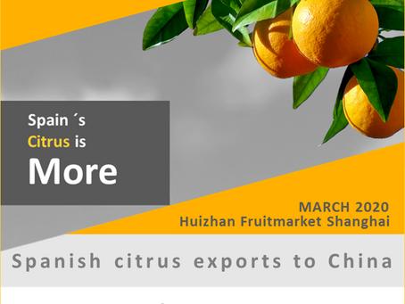 Citricos españoles celebran en China