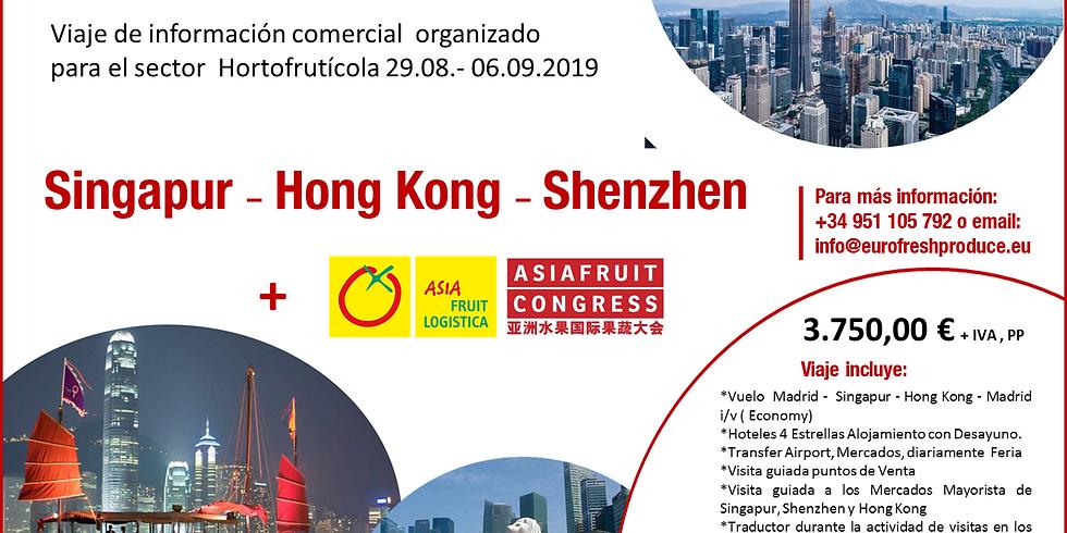 3 Ciudades claves para la Fruta en Asia