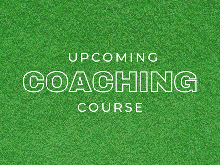 UPCOMING COACHING COURSES
