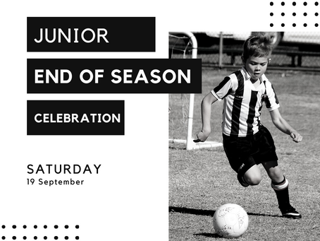 Junior End of Season Celebration