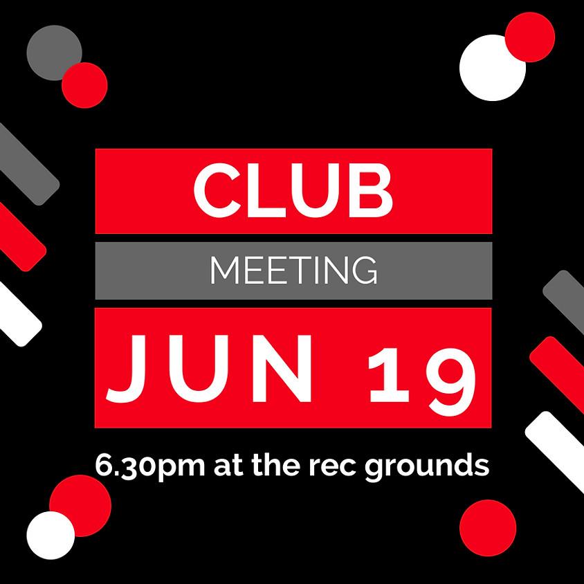 June Club Meeting