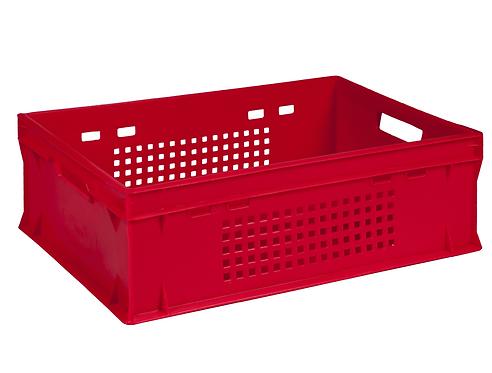 Ящик пластиковий 600х400х200 E2 перфорований (ST6420-2020)