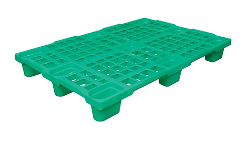 Палета пластикова полегшена 1200х800 на ніжках