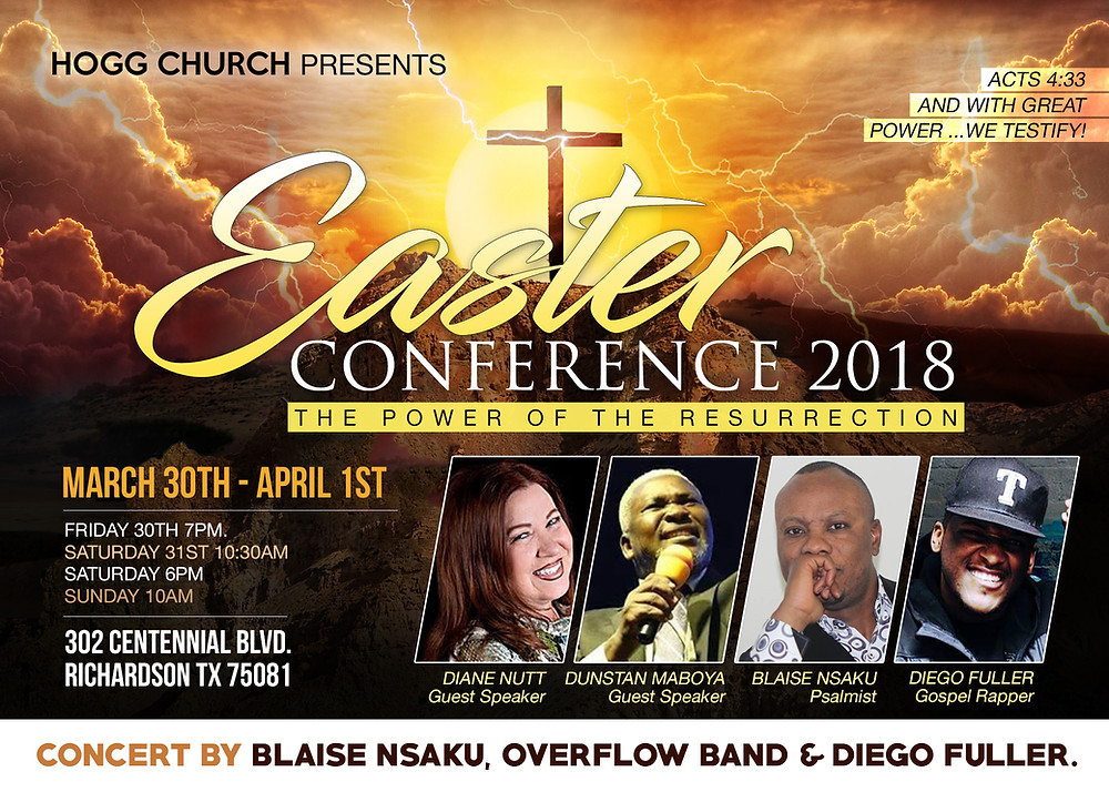 With Apostle Diane Nutt & Apostle Dunstan Maboya