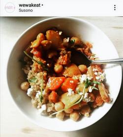 Sake-Miso vegan red thai curry