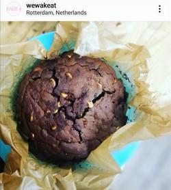 "K.F.C cake = ""Kapucijners Fermented (Chocolate+Chilli)Cake"""
