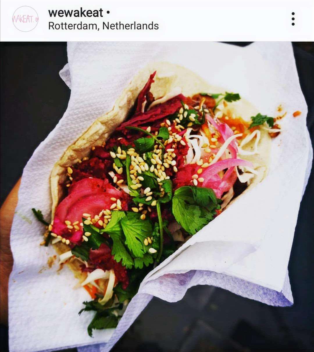 Miso x Korean style vegan tacos