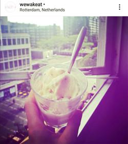 Miso-de-coco vegan ice-cream