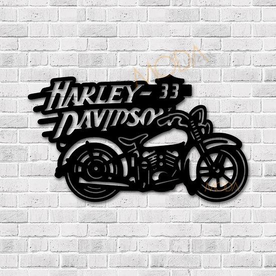 Harley Davidson Motor Tablo