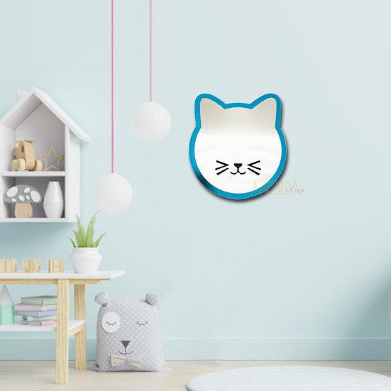 Çocuk Odası Kedi Figür Ayna