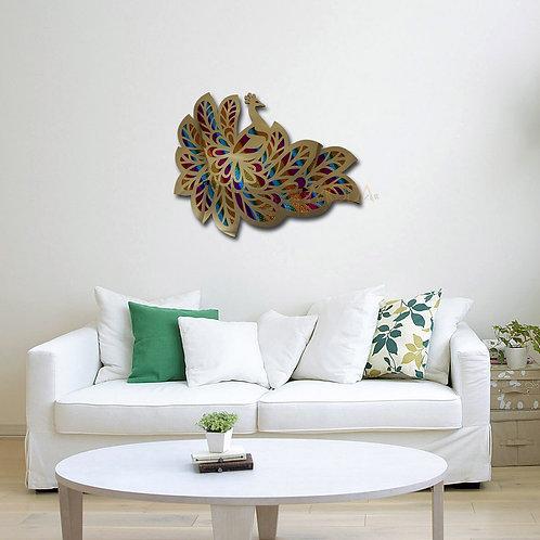 tavus kuşu tablo hologram