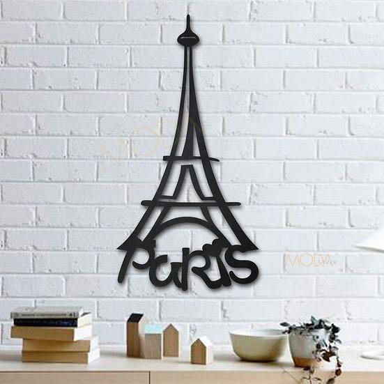 Paris Eiffel tablo