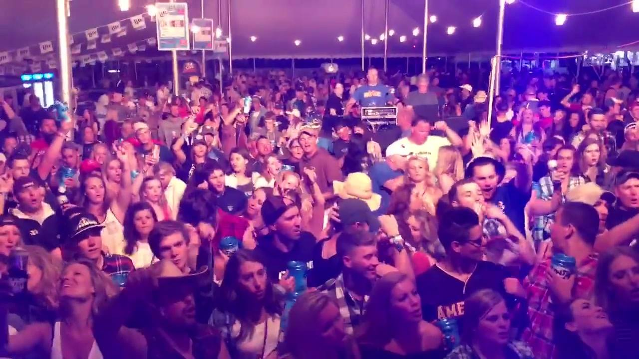 What an amazing crowd for our first night at Country USA! You guys rocked last night we are looking forward to the next 4 days with you!! #countryusaoshkosh