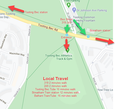 Tooting Bec Track Location.png