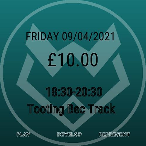 Friday 09/04/2021 18:30-20:00