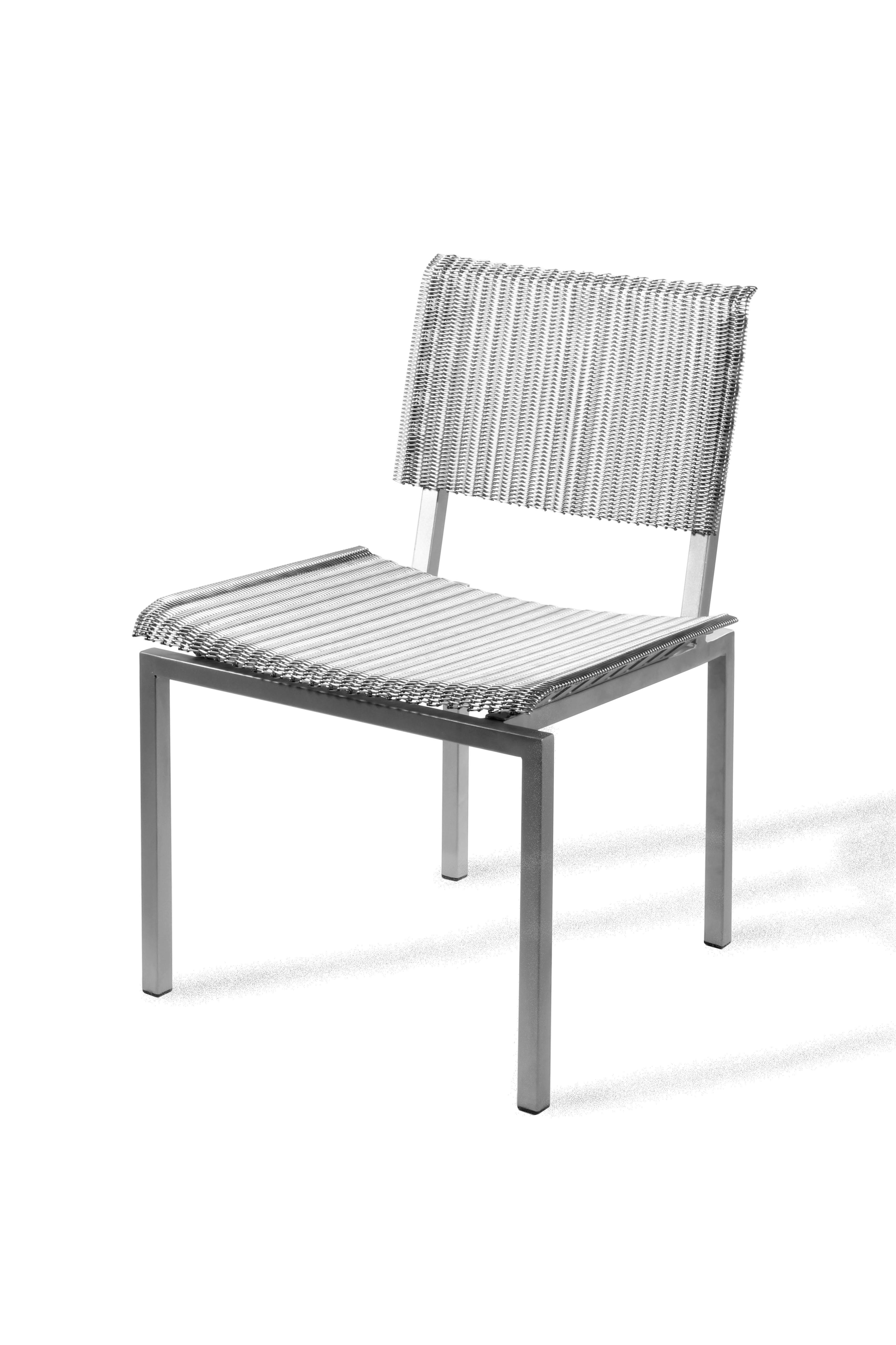 Danko Alchemy Woven Mesh Wire Chair