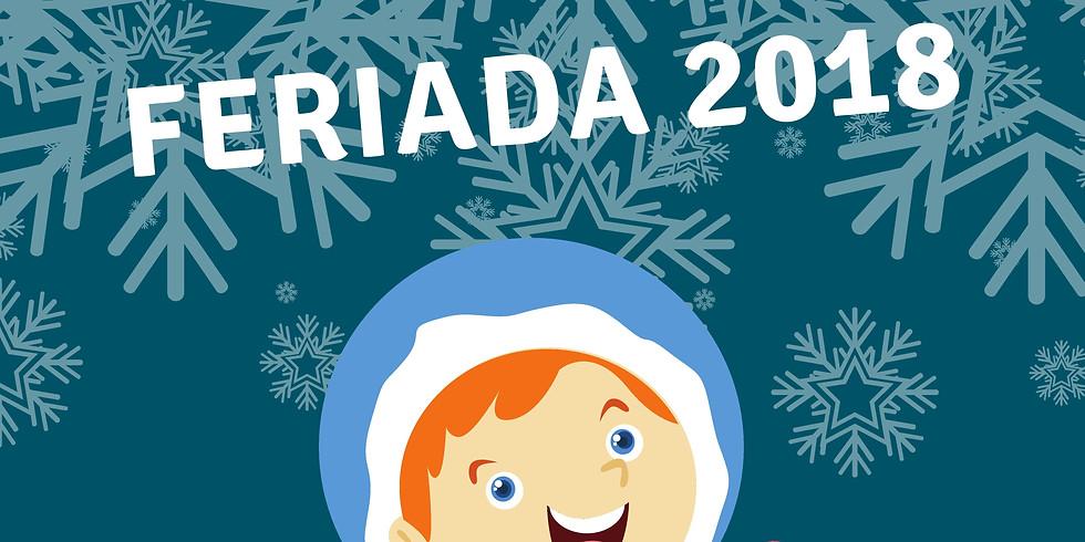 Feriada 2018 - Plan na tydzień I