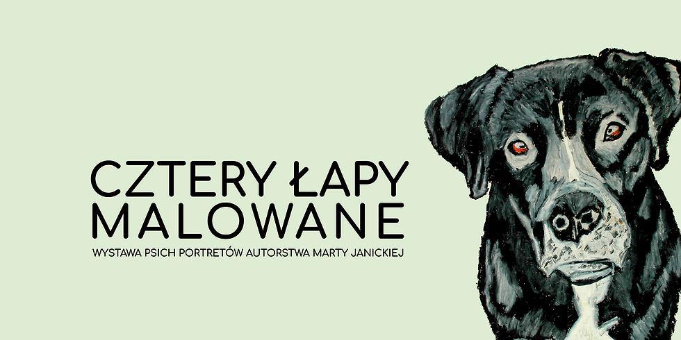 Cztery łapy malowane / adoptuj psa z portretu!