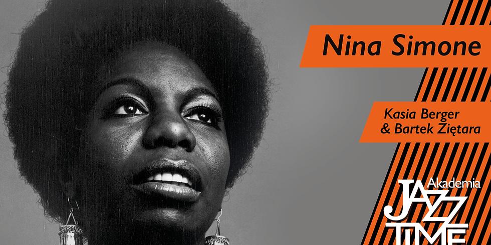 """Nina Simone"" by Kasia Berger | Akademia Jazz Time"
