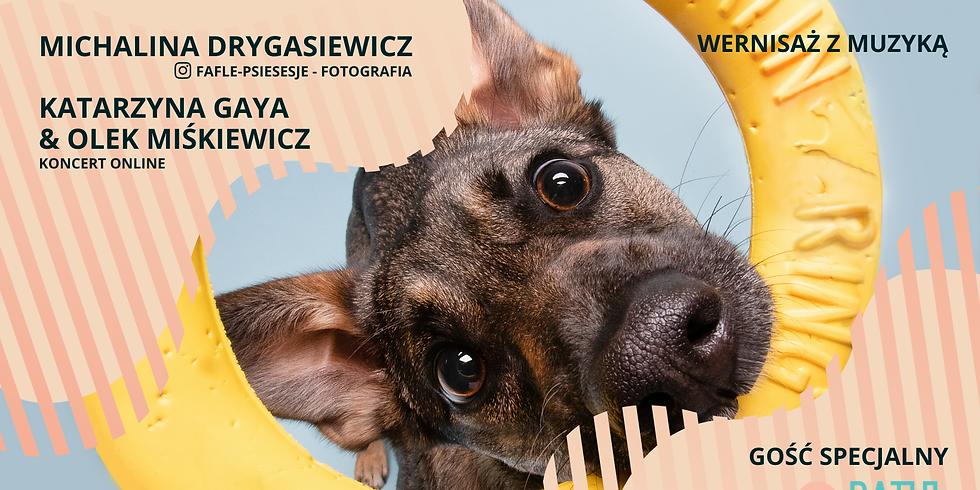 Wernisaż z muzyką ONLINE   Michalina Drygasiewicz & Katarzyna Gaya + RATUJ