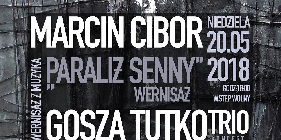 Wernisaż z muzyką: Marcin Cibor / Gosza Tutko Trio