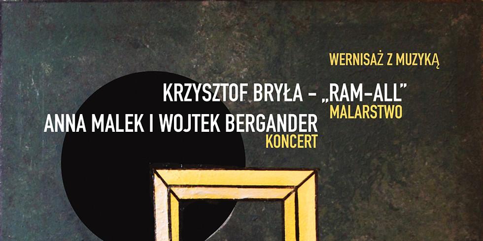 Wernisaż z muzyką: Krzysztof Bryła & Anna Malek i Wojtek Bergander
