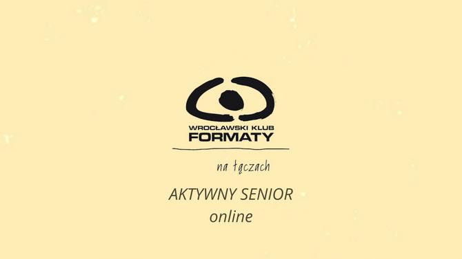 Aktywny senior online