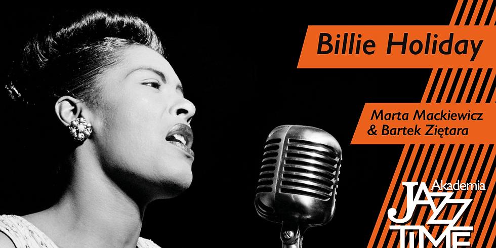 """""""Billie Holiday"""" by Marta Mackiewicz   Akademia Jazz Time"""